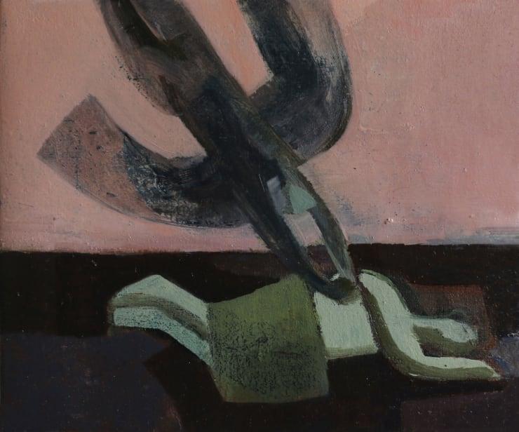 Davina Jackson Jacob's Dream IV, 2019 Oil on canvas 25 x 30 cm 9.8 x 11.7 in