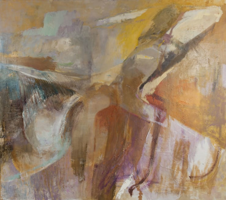 Davina Jackson Discovering Icarus, 2018 Oil on canvas 152 x 172 cm