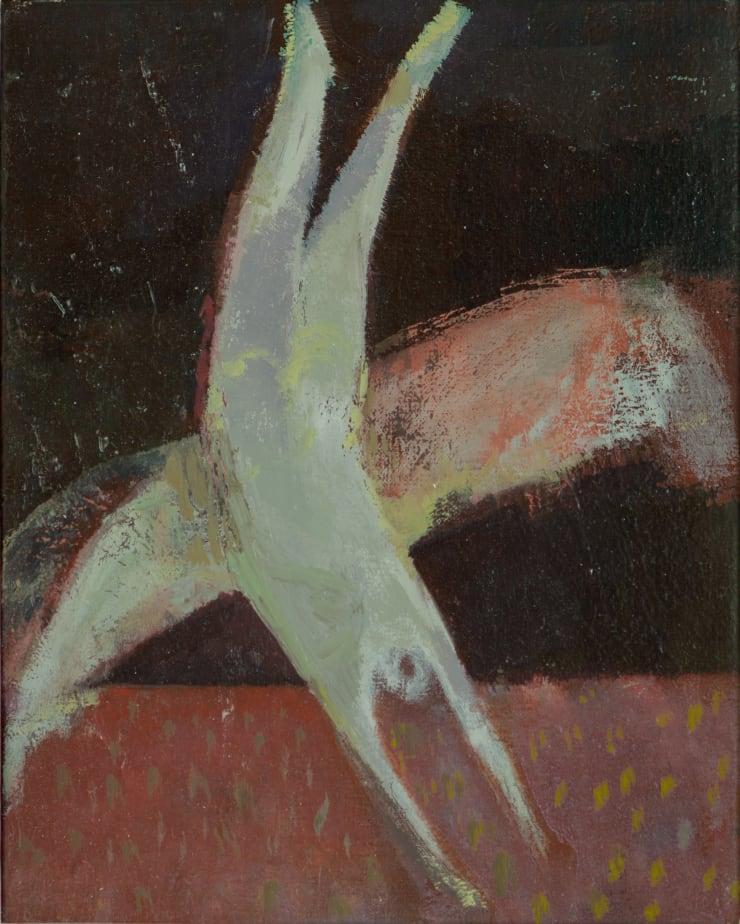 Davina Jackson Icharus Falling II , 2018 Oil on canvas 24.5 x 20 cm 9.6 x 7.8 in