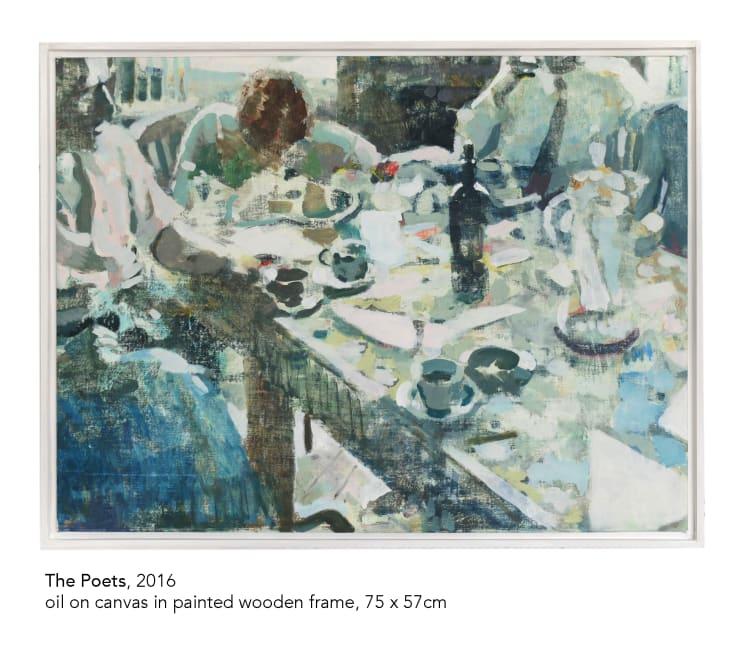 Tim Braden, the Poets, 2016