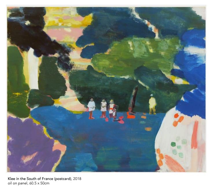 Tim Braden, klee (postcard), 2018