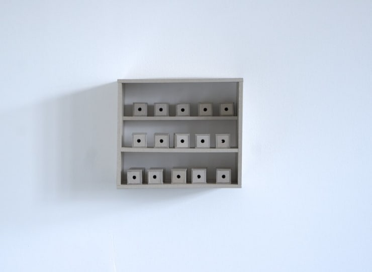 Dean Hughes, Staged boxes, 2011
