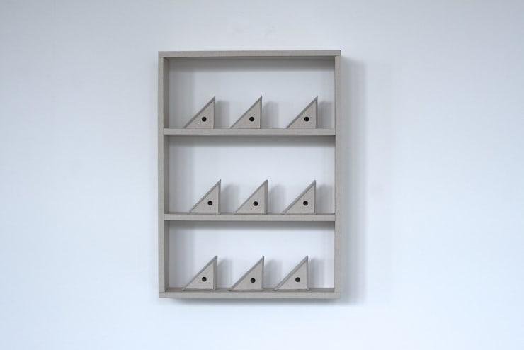 Dean Hughes, Triangular boxes (ii), 2011