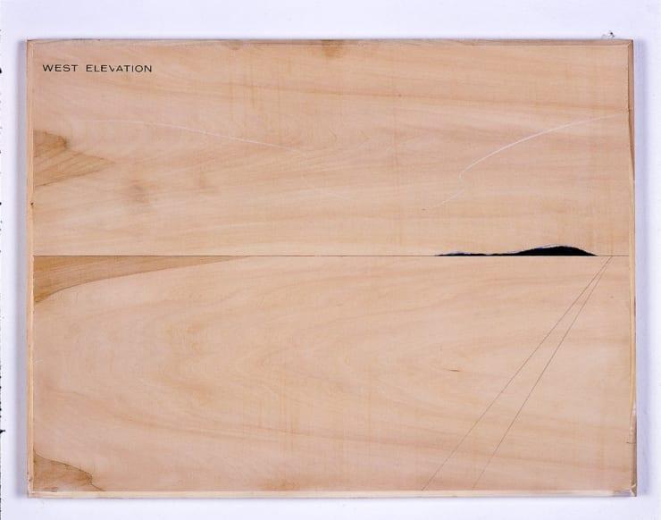 Peter J. Evans, West elevation, 2006