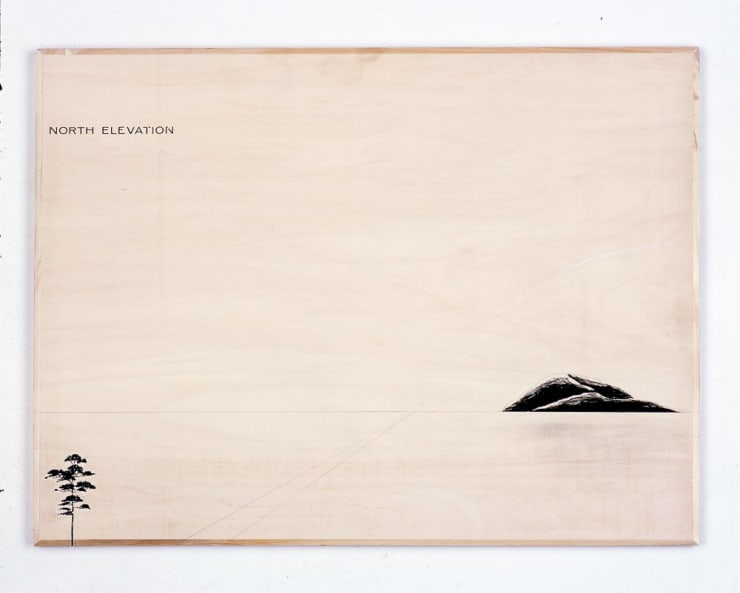 Peter J. Evans, North Elevation, 2006
