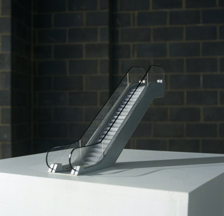Cath Campbell, Escalator, Installation View, 2005