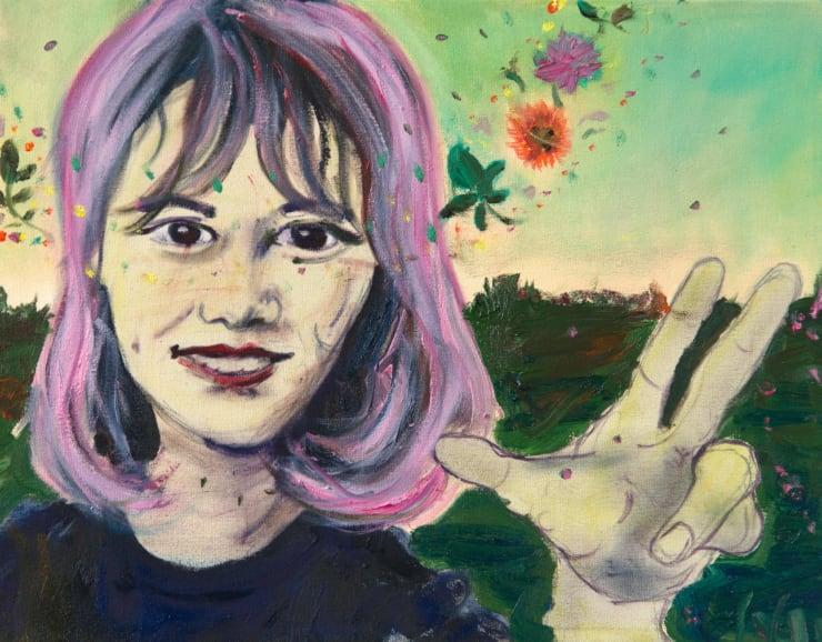 Blair McLaughlin Sa Sol, 2017 Oil on canvas 17 7/10 × 13 4/5 in 45 × 35 cm