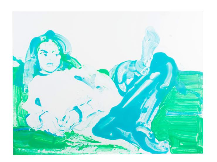 Ilona Szalay Madeline, 2018 Oil on aluminium 60 x 70 cm