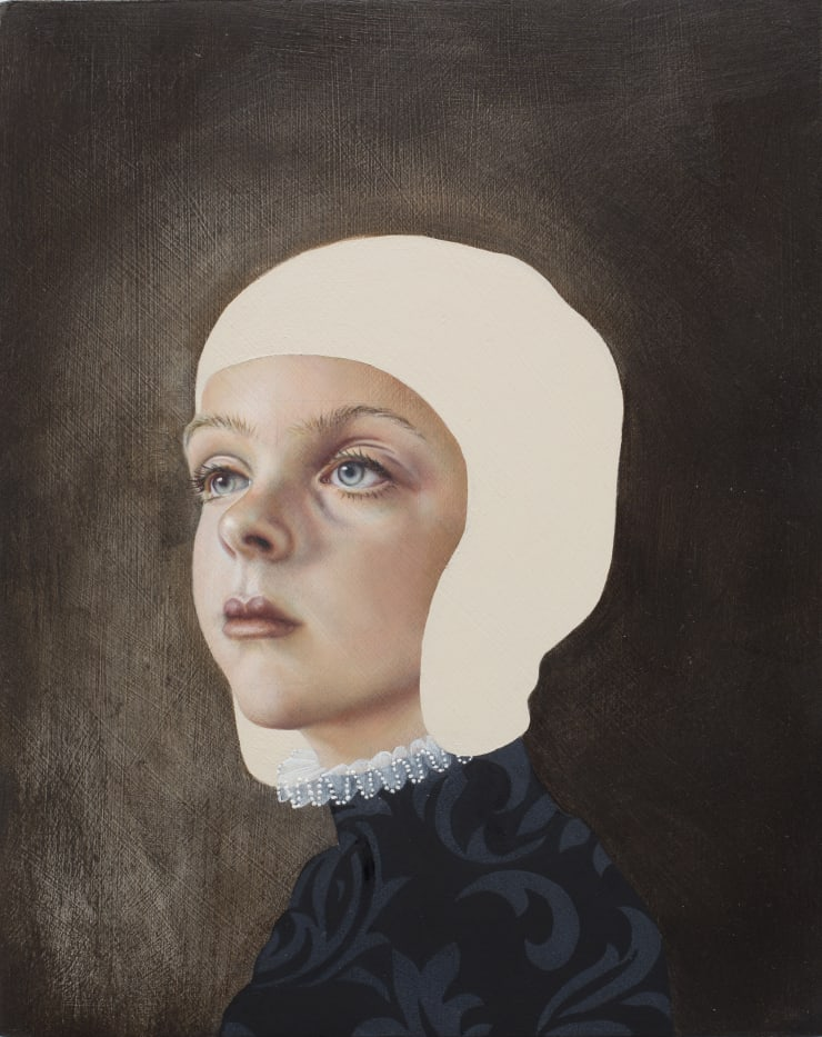 Pippa Young Self-determined, 2016 Oil on cradled panel 11 4/5 × 9 2/5 in 30 × 24 cm