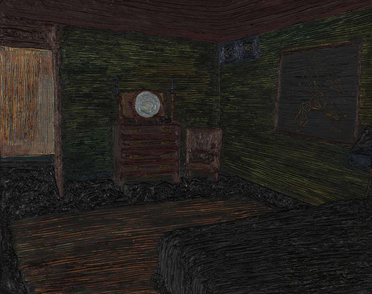 Anna Rocke Untitled, 2019 Oil on wood 20 x 25 cm