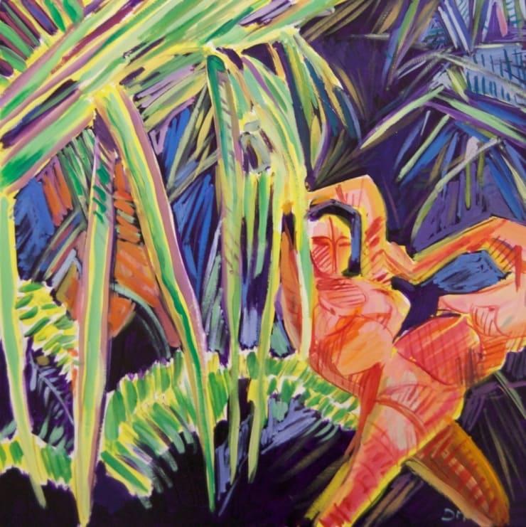 Dean Melbourne Melt oil on canvas