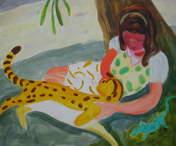Eleanor Moreton Juanita, 2017 Oil on canvas 70 x 60 cm