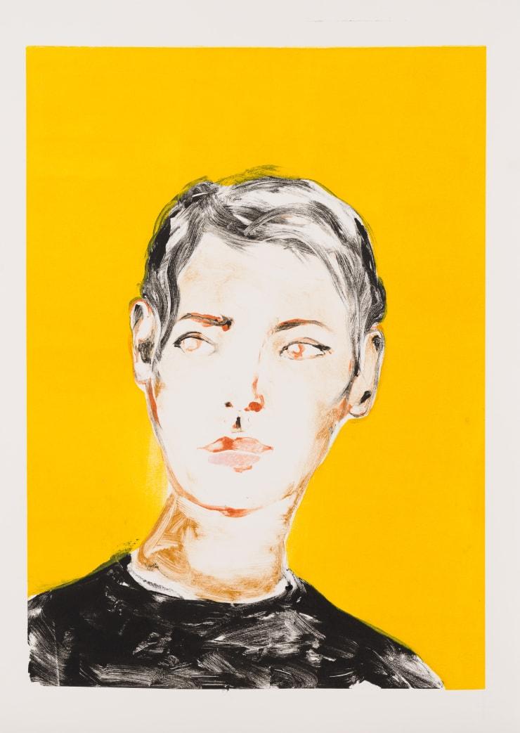 Shelly Tregoning Reveal, 2019 Monoprint 53.5 x 38 cm