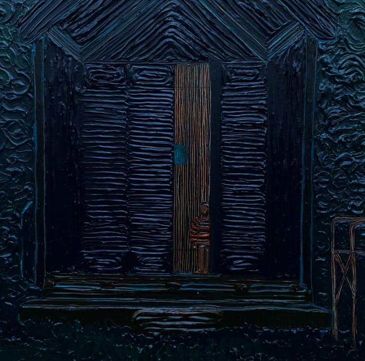 Anna Rocke Untitled, 2019 Oil and varnish on wood 15 x 15 cm