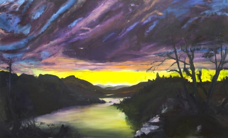 Blair McLaughlin Disintegration II, 2017 Oil on canvas 160 × 260 cm