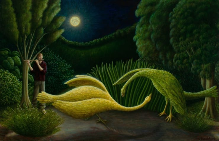 Helen Flockhart Fauve, 2016 Oil on canvas 30 × 46 cm