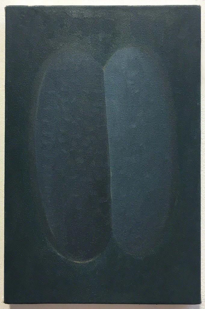 Rafal Topolewski Untitled oil on canvas 11 4/5 × 7 9/10 in 30 × 20 cm