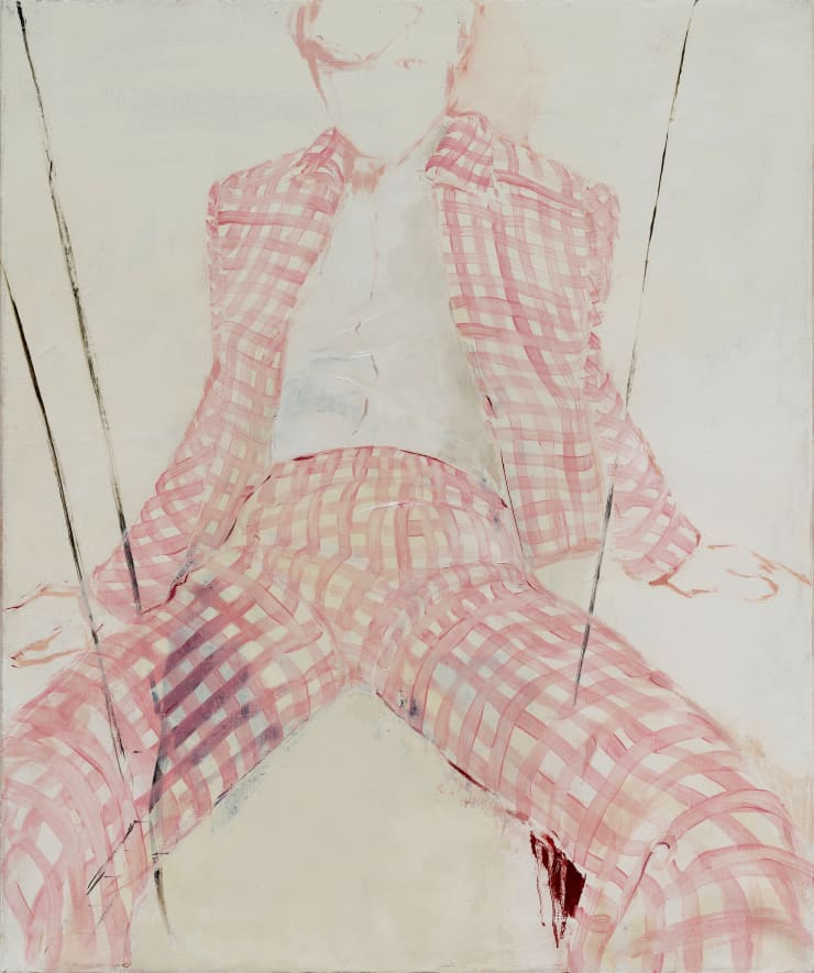 Shelly Tregoning Chequered Faith, 2019 Oil on linen 91 x 76 cm