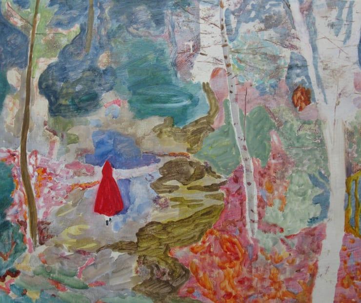 Eleanor Moreton The Ballad of Jodi and Travis 1, 2017 Oil on canvas 50 x 70 cm