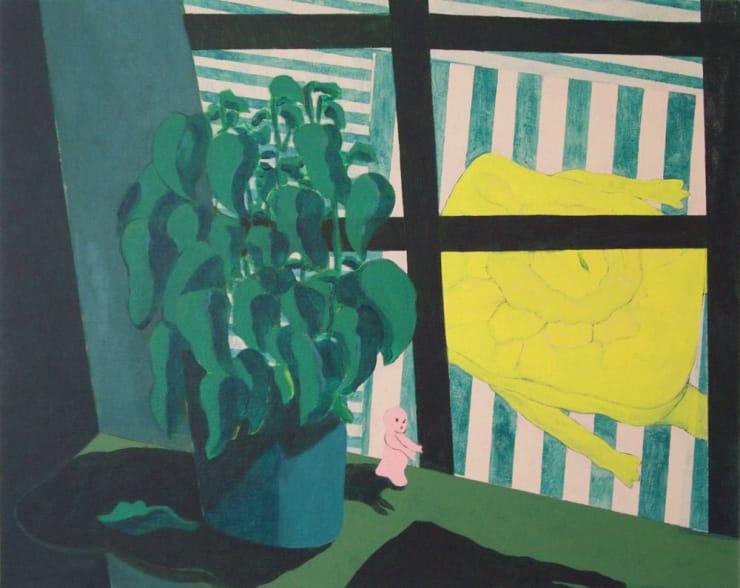 Tahnee Lonsdale Awake When Sleeping Acrylic on canvas 40 x 50 cm
