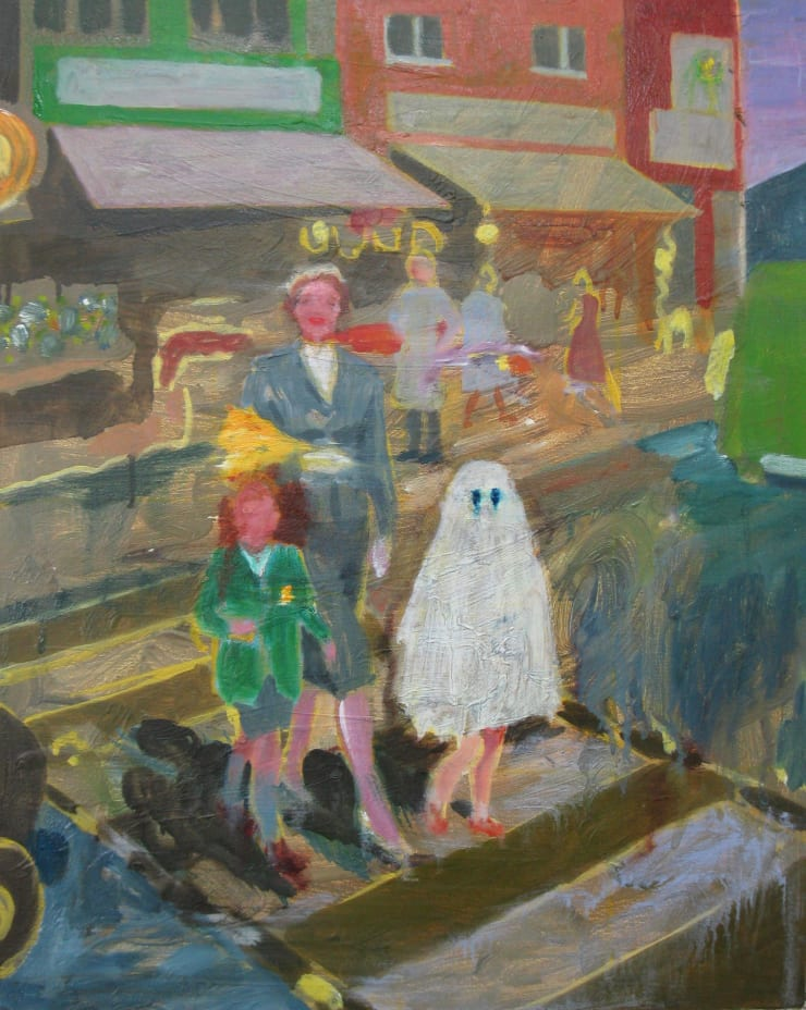 Eleanor Moreton Shopping, 2019 Oil on canvas 50 x 40 cm