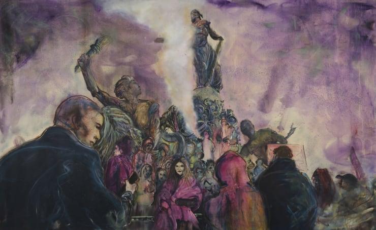 Blair McLaughlin Le Triomphe de la République, 2019 Oil on canvas 160 x 260 cm