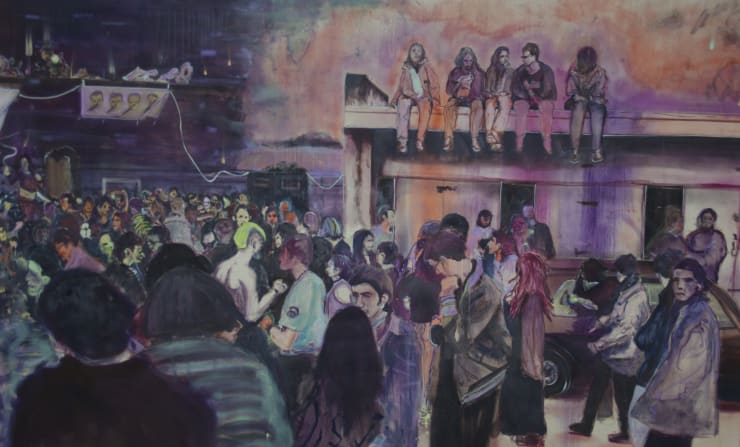 Blair McLaughlin Rave, 2019 Oil on canvas 160 x 260 cm