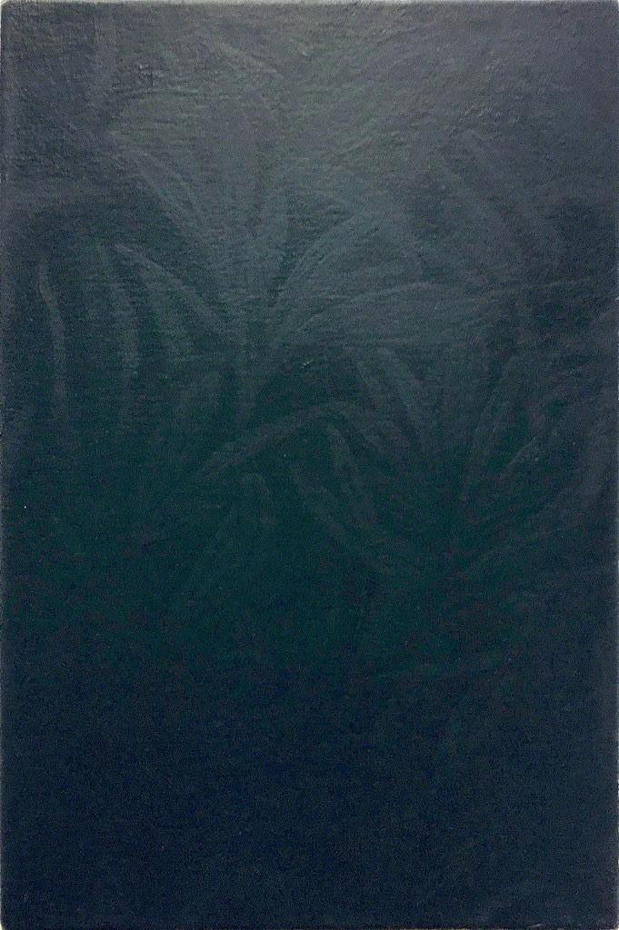 Rafal Topolewski Untitled (Dark) oil on canvas 11 4/5 × 7 9/10 in 30 × 20 cm