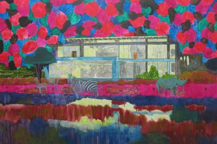 Eleanor Moreton House, 2019 Oil on canvas 100 x 150 cm