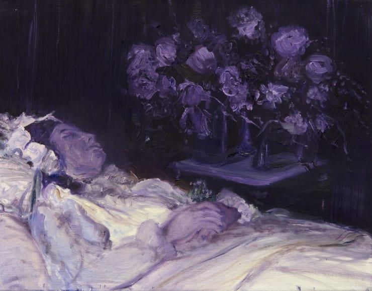 Blair McLaughlin Purple Sleep, 2019 Oil on canvas 35 x 45 cm