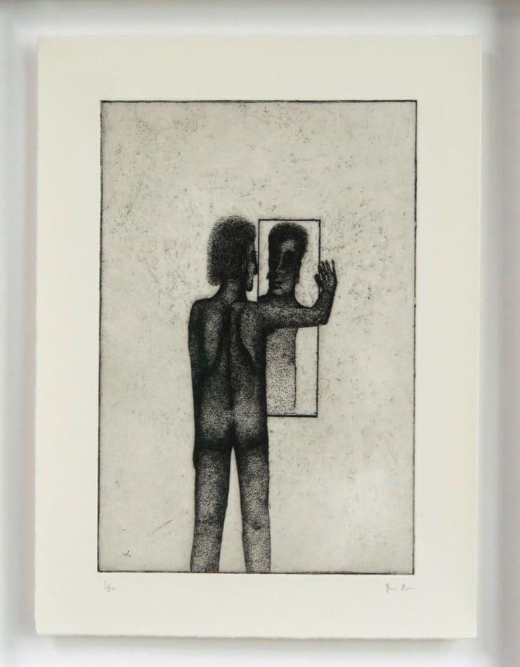 Thomas Adam Me , 2018 Etching, Edition of 50 28 x 22 cm