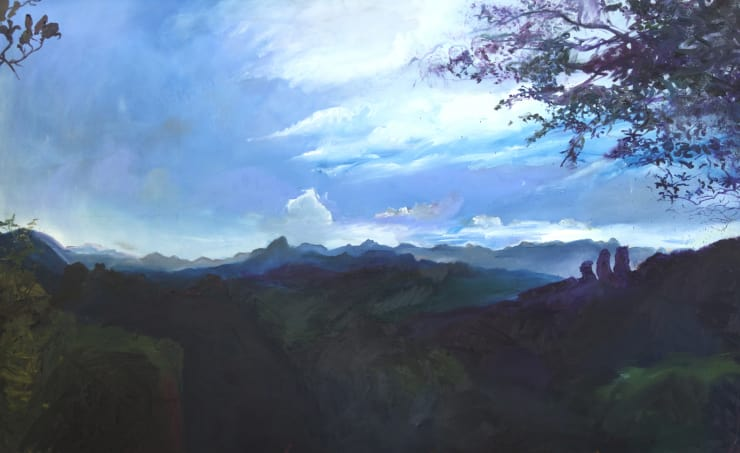 Blair McLaughlin Tainyou Peak, 2017 Oil on canvas 260 × 160 cm