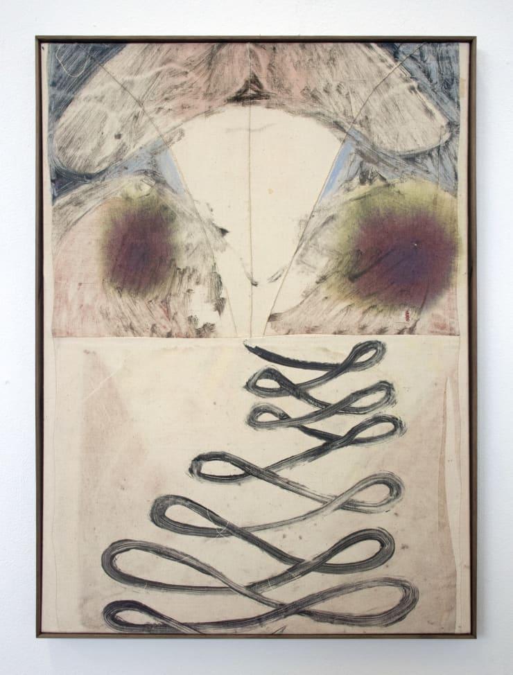 Aimée Parrott True Horizon, 2019 Monotype, ink and cotton on calico 55 x 40.5 cm