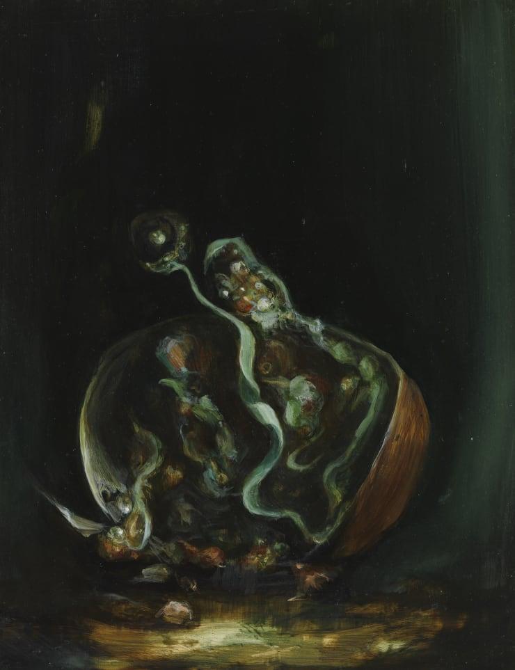 Pippa Gatty Draken, 2017 Oil on linen on board 28 × 22 cm