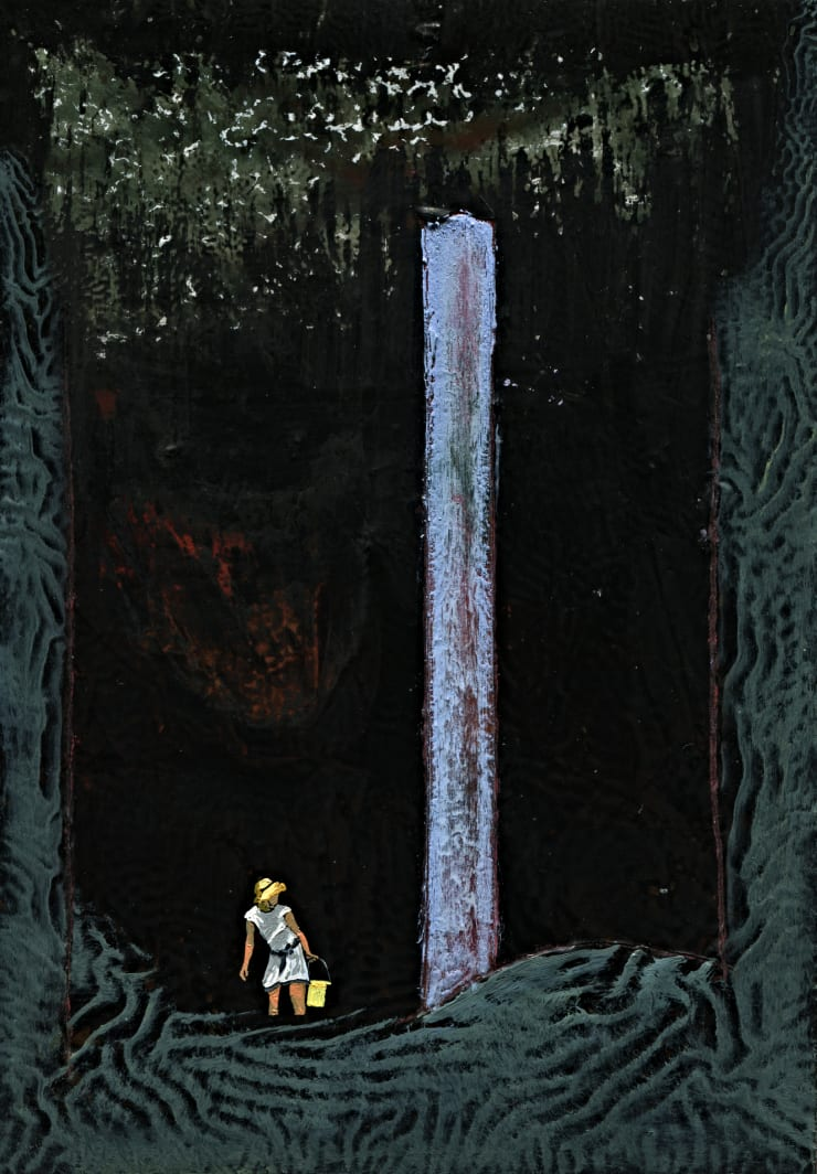 Jack Dunnett Monolith , 2019 12 x 17 cm