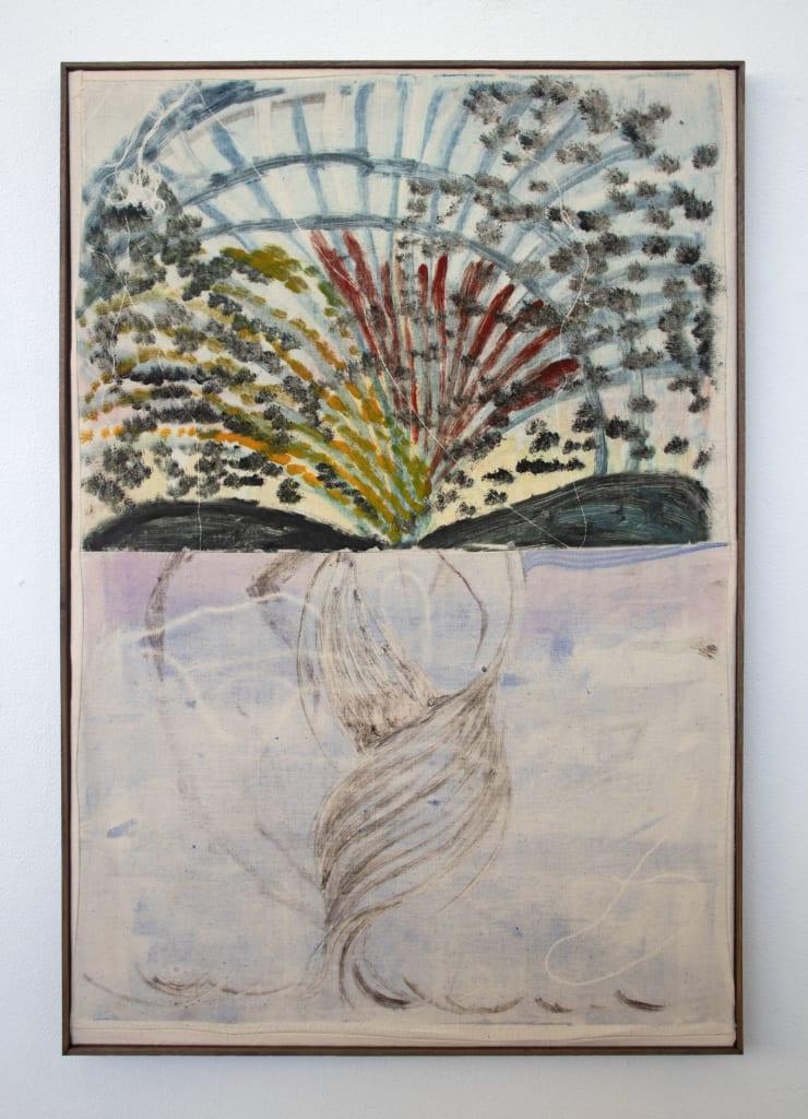 Aimée Parrott Trawler, 2019 Monotype, ink and cotton on calico 55 x 40.5 cm