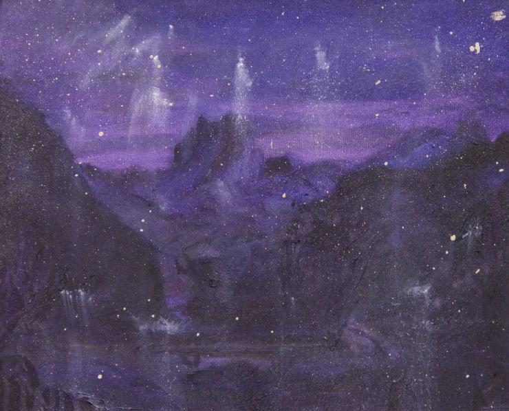 Blair McLaughlin Study for Der Fuchs und das Pfred, 2019 Oil on canvas 35 x 45 cm