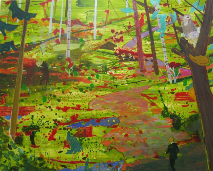 Eleanor Moreton The Ballad of Jodi and Travis 3, 2019 Oil on canvas 80 x 92 cm