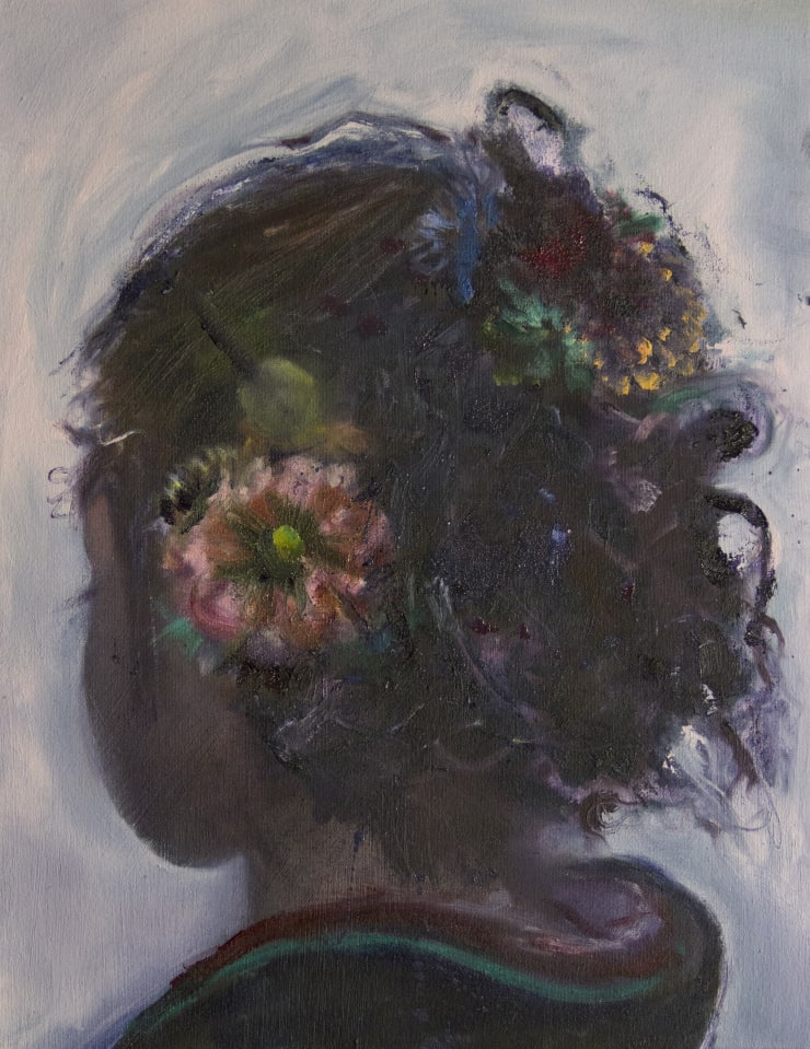 Blair McLaughlin Coming of Age I, 2018 Oil on canvas 45 × 35 cm
