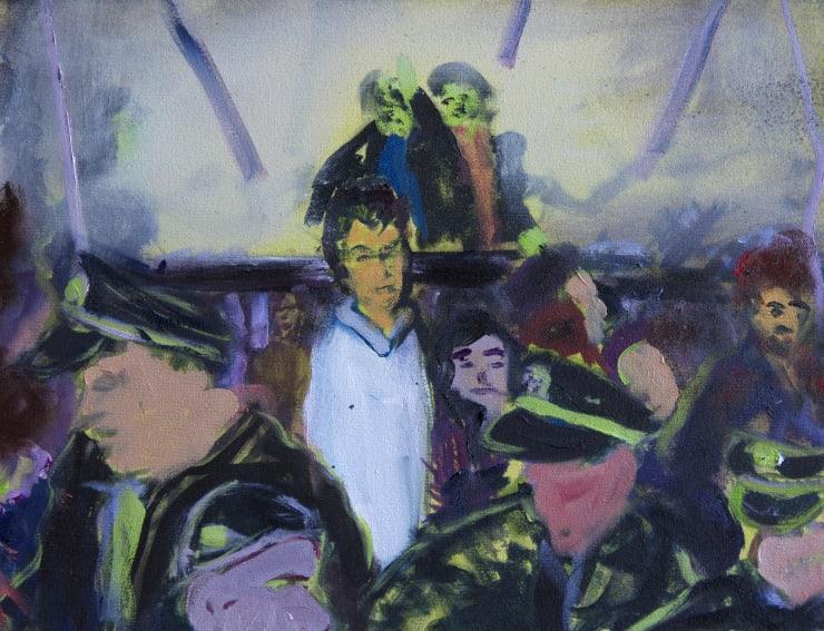 Blair McLaughlin Study for Negative Horizon, 2019 Oil on canvas 35 x 45 cm