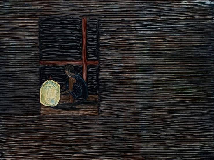 Anna Rocke Untitled, 2019 Oil and varnish on wood 15 x 20 cm