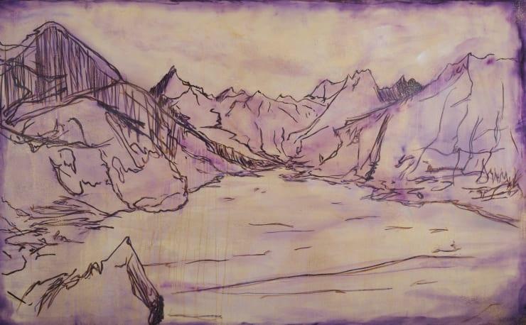 Blair McLaughlin Skye, Cullin's Ridge, 2019 Oil on canvas 160 x 260 cm