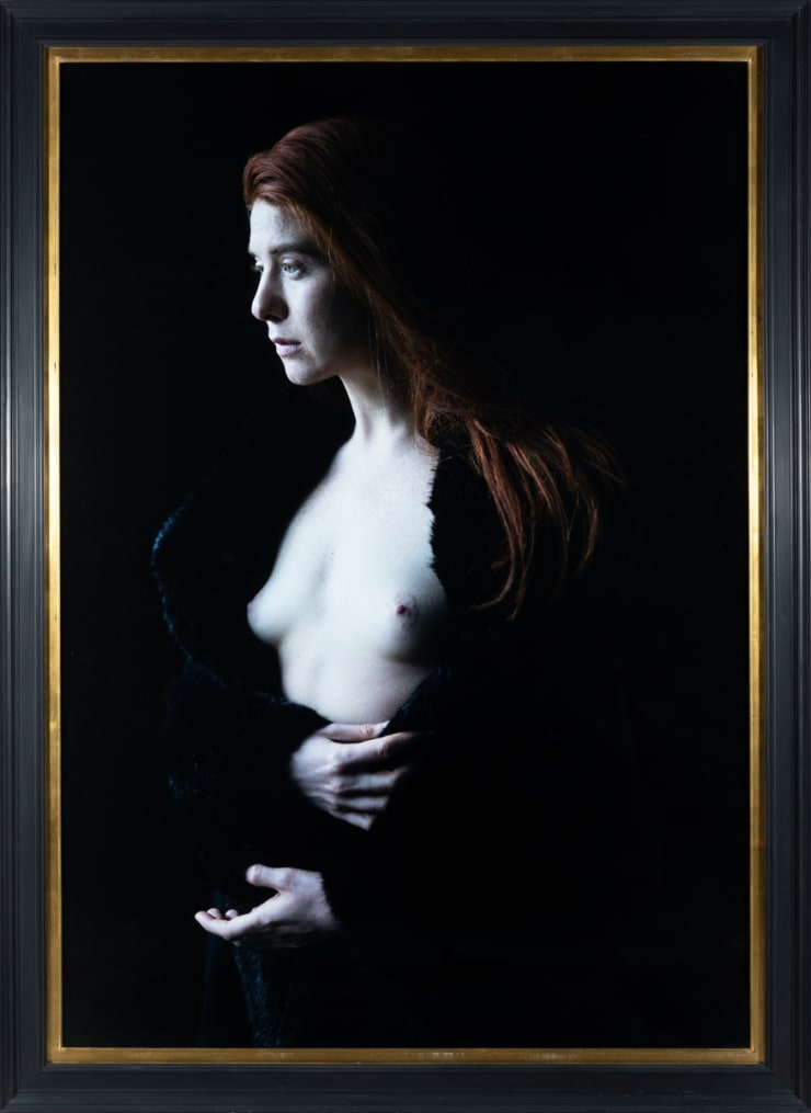 Carla van de Puttelaar Pigment print, mounted on dibond, black wooden frame and art glass 150 × 105 cm