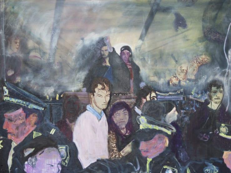 Blair McLaughlin Study Negative Horizon, 2019 Oil on canvas 120 x 160 cm