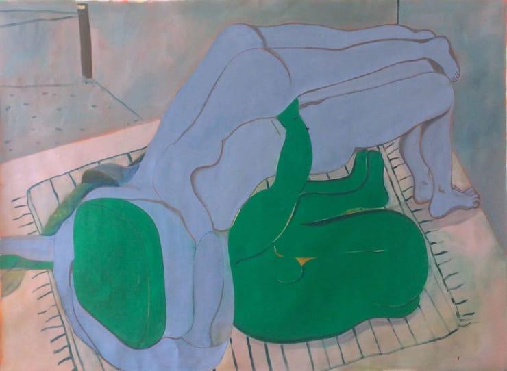 Tahnee Lonsdale Picnic, 2017 Oil on linen 119 x 160 cm