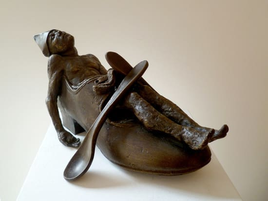 Beth Carter Tristian, 2017 Bronze sculpture 22 × 16 × 18 cm