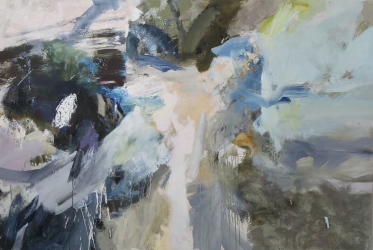 Gail Harvey Fresh Westerly, 2017 Oil on canvas 140 × 210 cm