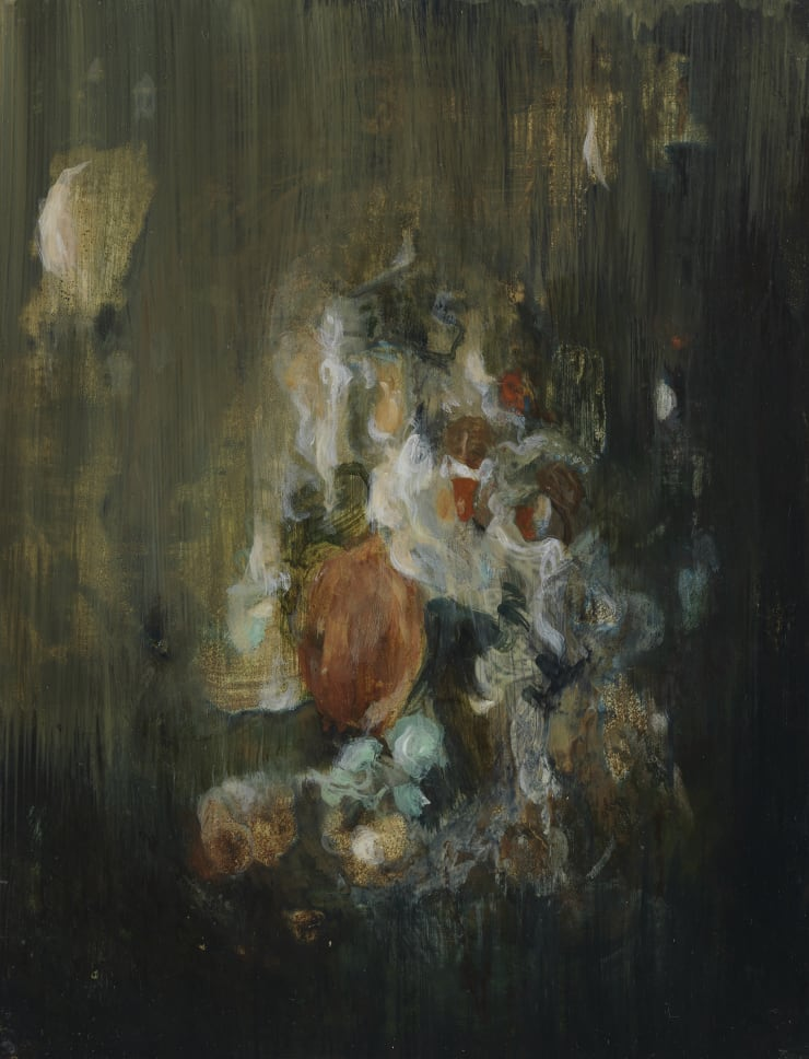 Pippa Gatty Cast 2, 2019 Oil on linen on board 21.2 x 28