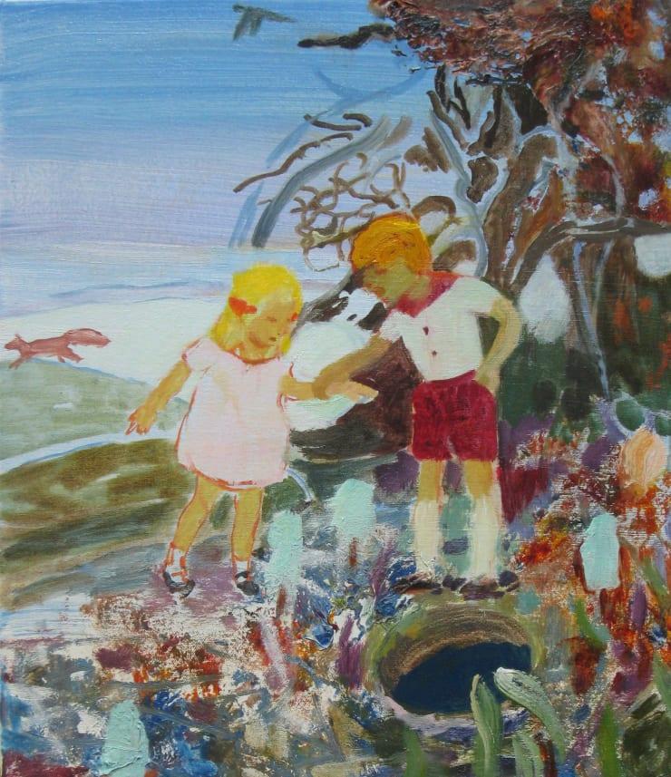 Eleanor Moreton Hole, 2019 Oil on canvas 35 x 30 cm