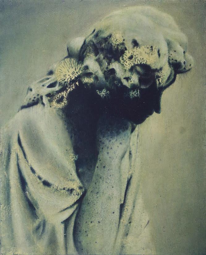 Fiona Finnegan Grave Oil on board 40 × 30 cm